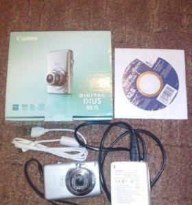 Фотоаппарат canon ixus 95 is