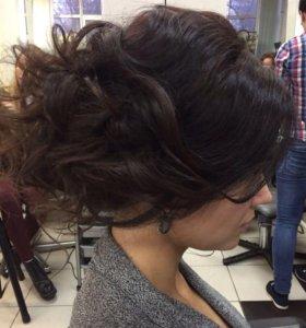 Причёски Укладка локоны