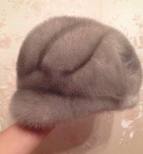 Норковая зимняя шапка