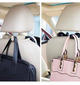 Крючок держатель клип на кресло авто для сумка