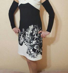 Платье женское с рукавами
