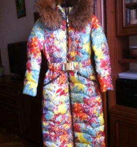 Женское зимнее пальто-пуховик