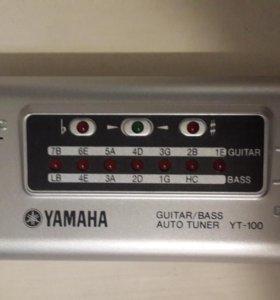 Автотюнер для настройки гитар Yamaha YT-100