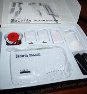 Охранная GSM сигнализация для дома, гаража