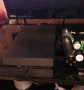 PS4+2 джойстика+ акк с играми