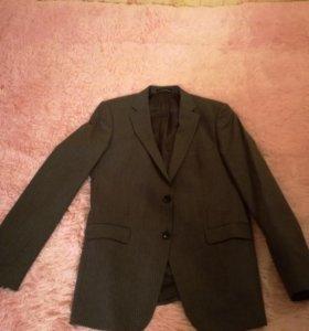 Пиджак мужской Zara Man серый