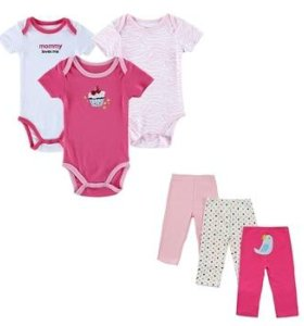 Комплект одежды для новорожденной девочки