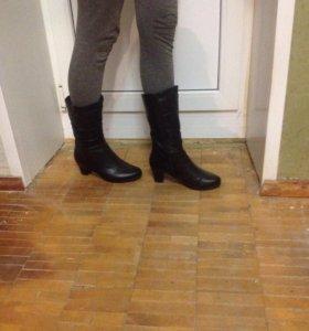 Зимние ,размер 36 , на узкую ногу
