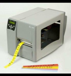 Принтер штрих кодов zebra s 4m