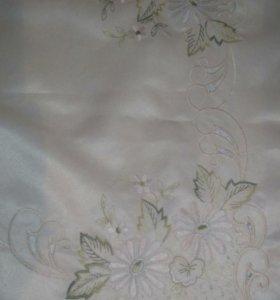 Скатерть с вышивкой 160*120