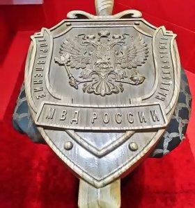 Герб из массива