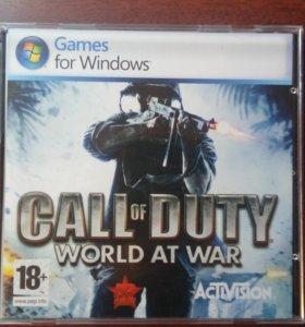 Игра Call of Duty world at war