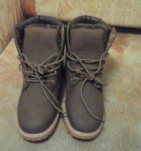 ботинки зимние,новые,производитель Roxdia