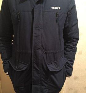 Мужская зимняя куртка Адидас