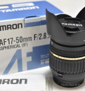 Tamron SP AF 17-50mm f/2.8 XR Di II LD для Canon