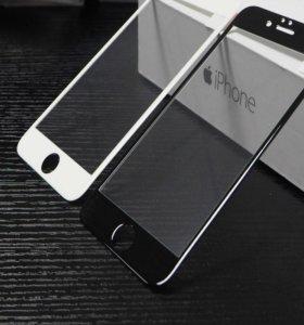 3D стекла на iphone 6, 7