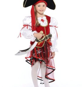Костюм Пиратки. Батик.