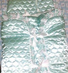 Конверт для новорожденного с одеяльцем