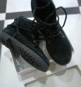 Ботинки новые нат.кожа
