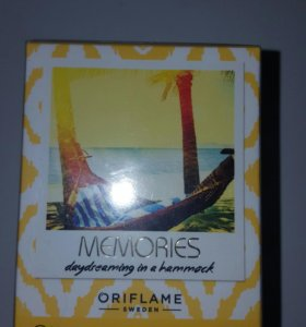 Oriflame memories туалетная вода