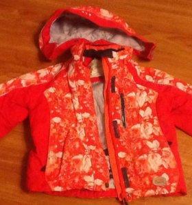 Куртка+брюки осенняя утепленн. Icepeak на рост 110