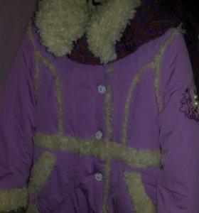Куртка -дублёнка