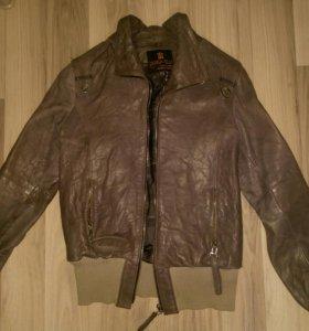 Куртка кожаная размер 44