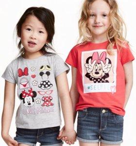 Две новые футболки для девочки