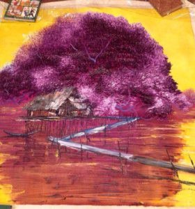 Картина вьетнамского художника!