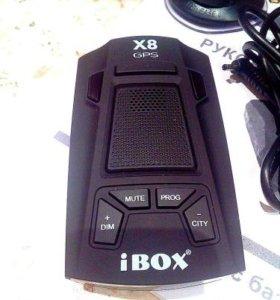 Радар-детектор Ibox X8 GPS