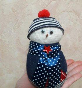 Снеговик в подарок в сад, школу и просто так