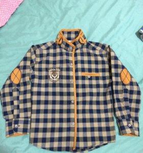 Рубашка до мальчика,110