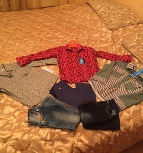 Одежда на мальчика 3-4 г. пакетом