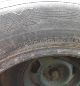Продам летние шины р17 Мишлен