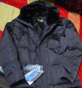 Куртка зимняя мужская на пуху