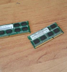 Оперативная память две по два гига для ноутбука