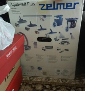 Пылесос Zelmer Aquawelt Plus