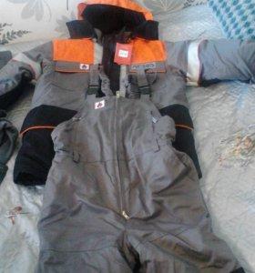 Тёплая рабочая одежда