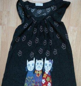 Платье с котиками. Карнавальные костюмы кошек