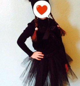 Новогодний костюм кошечки