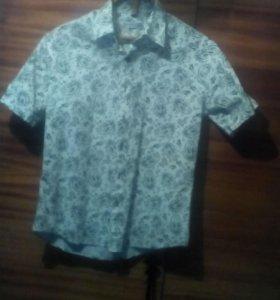 Рубашка подростковая,в реале ярче