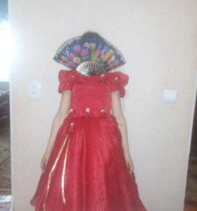 Платье для девочки 4-7лет