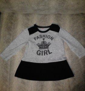 Платье на девочку 6-12мес
