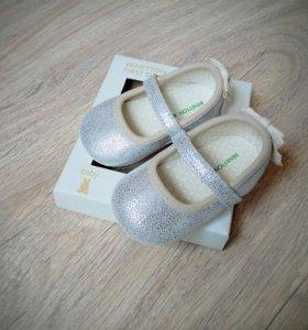 Новые туфли-пинетки Benetton