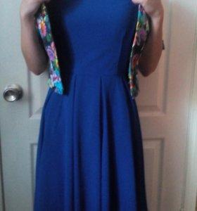 Платье+ накидка