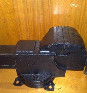 Тиски поворотные СССР 140 мм