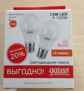 Светодиодные лампы Gauss 12Вт Е27