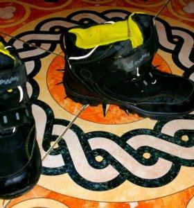 Ботинки зимние на мальчика