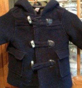 Пальто унисекс zara