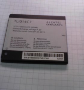 аккумулятор alcatel one touch TLi014C7